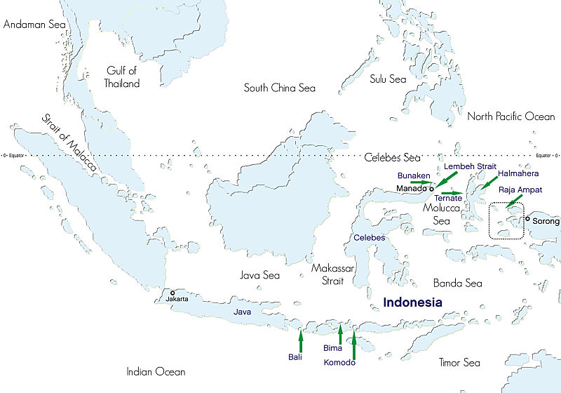Siren indonesia map opt