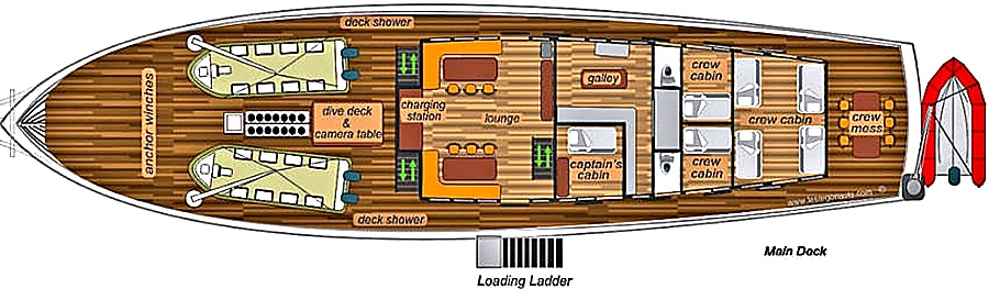 7 seas main deck