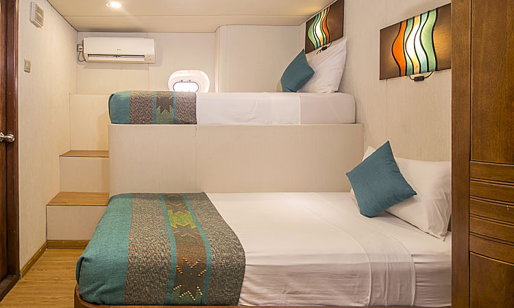 CD Standard cabin twin beds opt